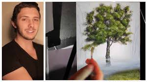 how to paint trees branches and leaves a basic sd painting tutorial of a tree you