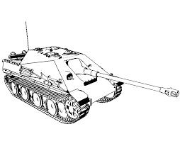 Kleurplaat Soldaten Tank Tropicalweather