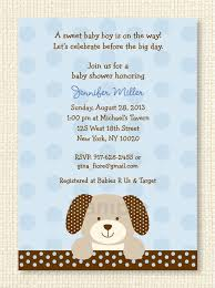 Cute Puppy Dog Baby Shower Invitation / Puppy Baby Shower Invite / Blue &  Brown / Baby Boy / INSTANT DOWNLOAD Editable PDF A135