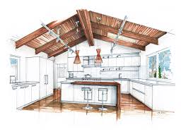 Contemporary Interior Design Kitchen Drawings Living Room Drawing With W Throughout Decorating
