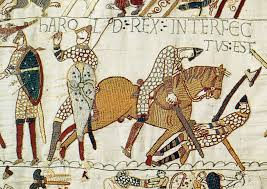 the battle of hastings writework english harold godwinson falls at hastings harold was struck in the eye an