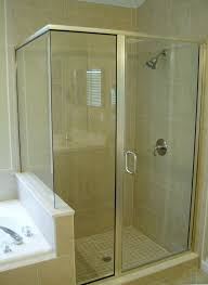 semi frameless shower enclosures. Interesting Semi A Semiframeless Shower Notice No Trim At The Corner Joint And Around  Door In Semi Frameless Shower Enclosures M