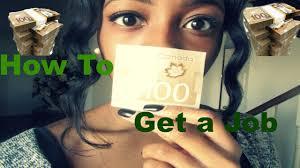 how to get a job as a teen how to get a job as a teen