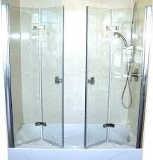 bi fold shower door enclosure x hardware doors with frameless bifold uk