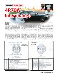 4r70w interchange 4r70w service manual pdf at 4r70w Transmission Wiring Diagram 99