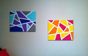 small canvas ideas simple paintings beginners easy art home pertaining to 1 diy wall drawing full