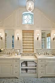 benjamin moore barbados bathroom traditional with calacatta marble floor top vanities tops6
