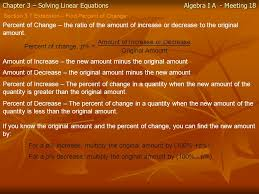 1 chapter 3 solving linear equations