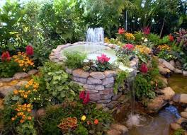 Small Picture Beautiful Garden Fountains Home Design Garden Architecture