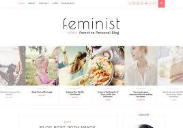 Feminist Simple Blogger Template Blogspot Templates 2019