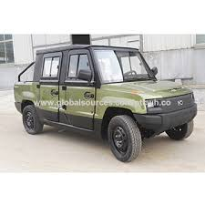 China 4-door 4-seat electric pickup 72V/5kW truck 80kmh, DOT and EEC ...
