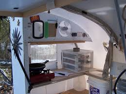 Camper Trailer Kitchen Designs A Real Bike Trailer House Tiny House Design
