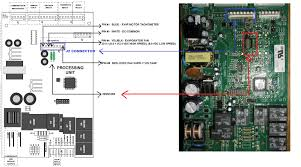 wiring diagram ge side by side refrigerators the wiring diagram replacing both evaporator fan motor and motherboard on ge sxs wiring diagram