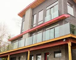 aluminum glass deck railings