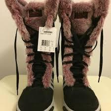 adidas fur boots. adidas - seneo yetty boots (nwt) fur r
