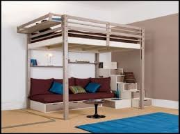 Elevated Platform Bed | Queen Bed Lofts | Lofted Queen Bed