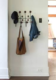 Hang Coat Rack Also lusting after one of these eames coat hooks Love these 5