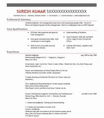 Marine Engineer Resume Sample Engineering Resumes Livecareer