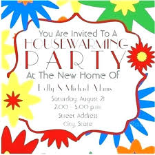 Housewarming Card Templates Housewarming Party Template Metabots Co