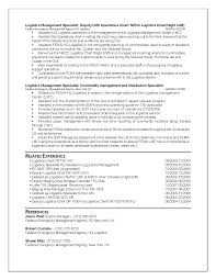 Example Of A Federal Resume Federal Resume Sample Logistics Dadajius 22