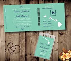 Printable Boarding Pass Wedding Set Digital Pdf Destination