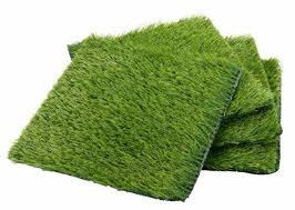artificial grass 4 pack synthetic grass lawn fake patch non slip turf for