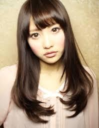 Aライン黒髪ストレートロングhi 39 ヘアカタログ髪型ヘア