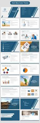 best ideas about company profile company profile company profile powerpoint template dark blue preview