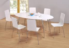 White Dining Table Set Gloss Kitchen Tables Uk And Chairs High Sets