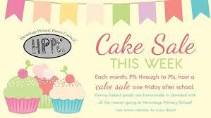 Cake Sales Hermitage Primary Parent Council