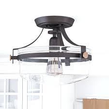 semi flush mount lighting. Semi Flush Ceiling Lighting Fixtures 1 Light Mount Tiffany Fixture I