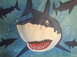 Shark Bedroom Decor Shark Room Decor Etsy