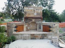 plans for outdoor fireplace
