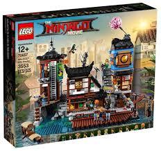 Конструктор <b>LEGO</b> The <b>Ninjago</b> Movie 70657 <b>Порт Ниндзяго Сити</b> ...