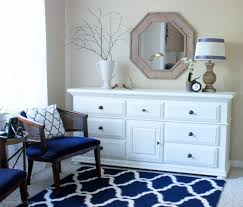Navy Blue Dresser Bedroom Furniture Master Bedroom Makeover Erin Spain