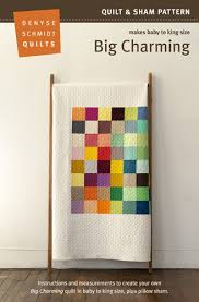 Brewer Pattern | Big Charming – The Cloth Pocket | Quilts ... & By Denyse Schmidt Quilt & Sham Pattern Sizes Baby to King Adamdwight.com