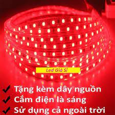 Đèn LED dây 5050 5M ống nhựa 220v tặng kèm 1 dây nguồn tốt giá rẻ