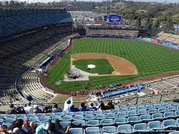 Dodger Stadium Seating Chart Infield Reserve Los Angeles Dodgers Seating Best Seats At Dodger Stadium