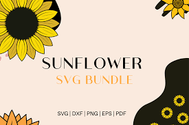 Svg sunflower free vector we have about (85,223 files) free vector in ai, eps, cdr, svg vector illustration graphic art design format. Sunflower Svg Bundle Bundle Creative Fabrica