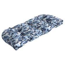 41 5 x 18 garden delight contoured outdoor bench cushion