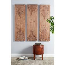 acanthus wood wall art