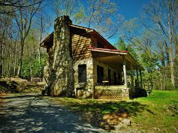 Serenity Falls Cabin Rental - NC Mountains Realty