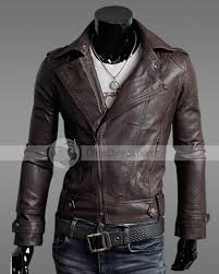 pophomme korean style slim leather motorcycle men s jackets dinodirect com