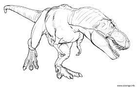 Coloriages Dinosaures Jurassic Parc Et Jurassik World