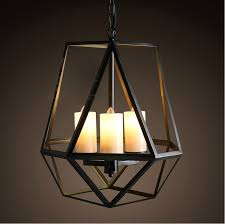 art deco lamp. Loft Style American Rural Vintage Pendant Lamp Wrought Iron Art Deco Lighting Coffee Shop Candle