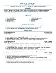 retail resume examples retail sample resumes livecareer assistant manager resume example