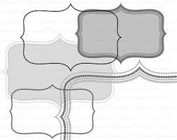 printable bracket frame. Bracket Frame Clip Art Black And White, Digital Clipart Dot : Printable