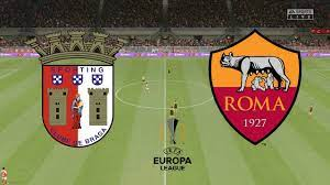 UEFA Europa League 2021 (R32) - SC Braga Vs Roma - 1st Leg - 18th February  2021 - FIFA 21 - YouTube
