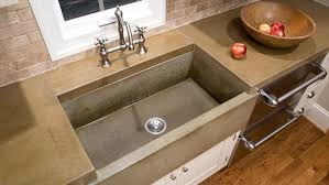 standard kitchen sink counter depth apoc by elena customary integrated kitchen sink and countertop