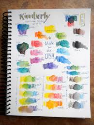 Artist Loft Sketch Markers Color Chart South Carolina Lowcountry Nature Journaling And Art